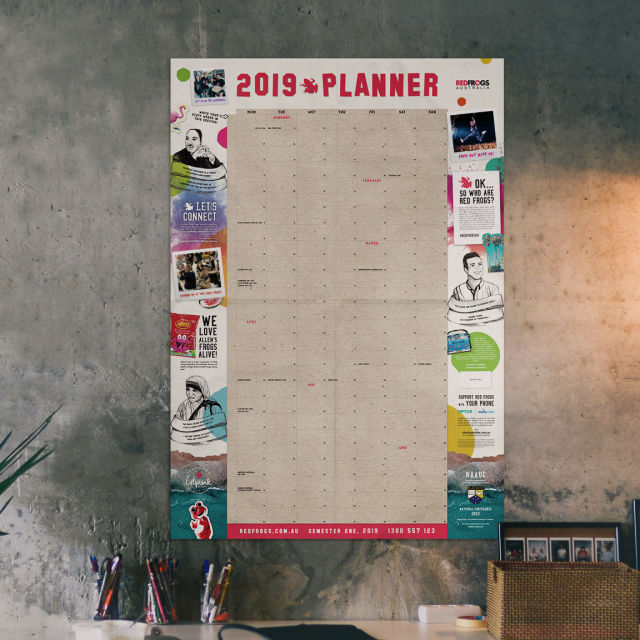 custom wall planners
