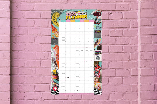 Order your 2021 Wall Planner